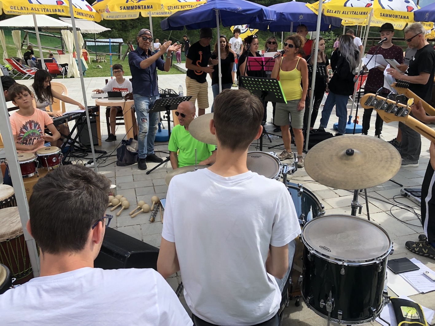 Musica di insieme in quota
